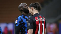 Romelu Lukaku (l.) und Zlatan Ibrahimovic werden wohl keine Freunde mehr