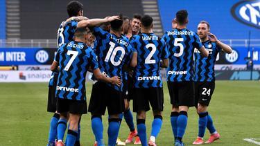 Inter Mailand hat Sampdoria deutlich geschlagen
