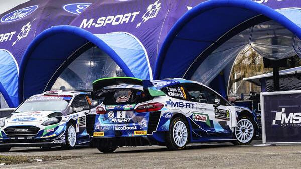 M-Sport hat für die kommenden zwei WRC-Events einen abenteuerlichen Plan