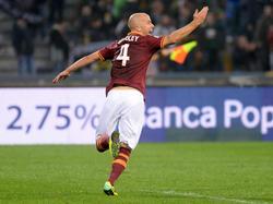 2,75 % Spielzeit, aber 100% Effektivität: Michael Bradley bejubelt seinen Siegtreffer in Udine