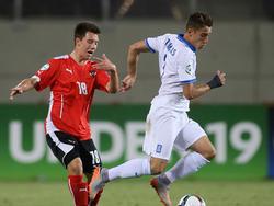 Österreich und Griechenland trennten sich 0:0