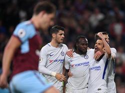 Victor Moses gelang der Siegtreffer für den FC Chelsea