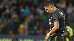 Cristiano Ronaldo wartet auf sein erstes Pflichtspieltor im Juve-Trikot
