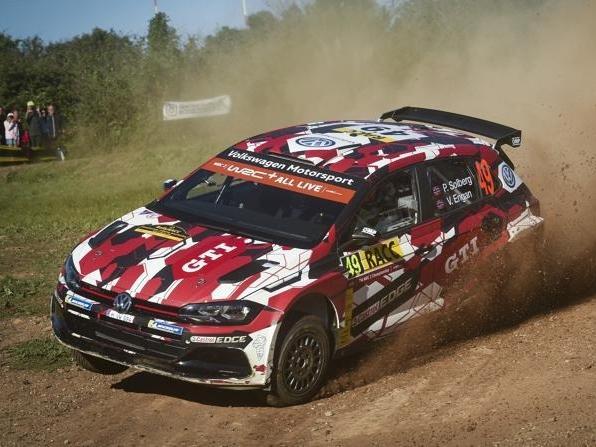Petter Solberg fuhr mit dem Volkswagen Polo R5 auf Rang drei der WRC2