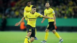 Achraf Hakimi spielt seit Saisonbeginn für den BVB