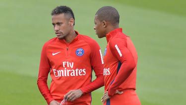 Neymar und Kylian Mbappé drohen gegen Liverpool auszufallen