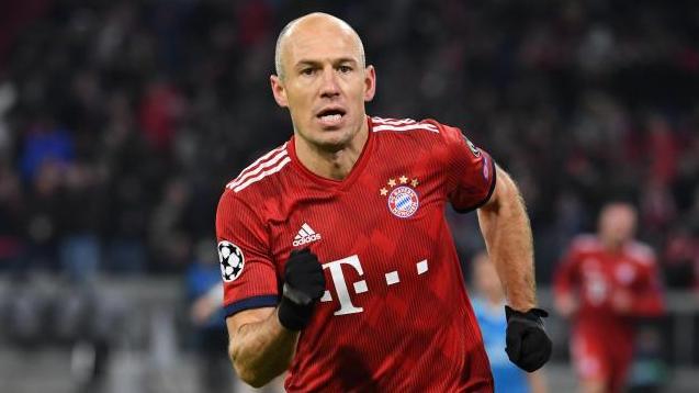 Gegen Ajax nicht dabei: Arjen Robben