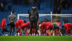 Jürgen Klopp hat mit Liverpool weiterhin vier Punkte Vorsprung auf Platz zwei