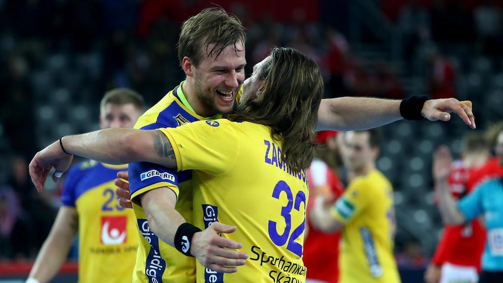Die Schweden sicherten sich bei der Handball-WM Platz fünf
