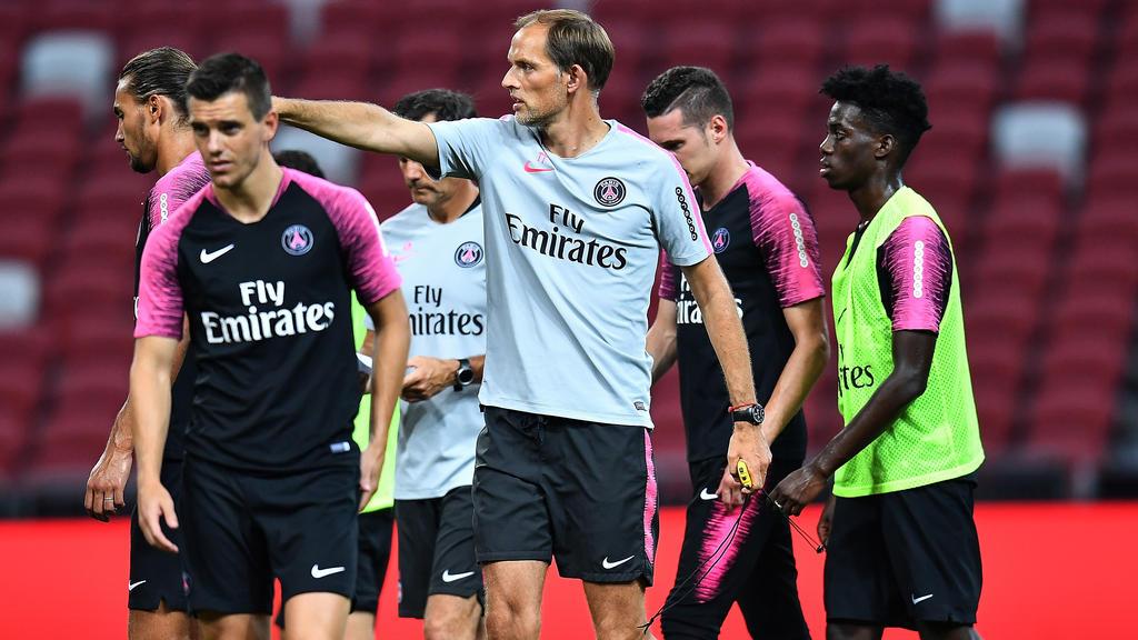 Ex-BVB-Coach Thomas Tuchel blickt in der Ligue 1 seinem ersten Meistertitel entgegen
