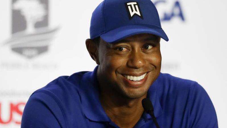 Tiger Woods jagt den Rekord von Jack Nicklaus