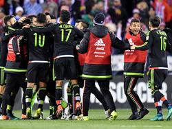 México ganó a Estados Unidos en el camino al Mundial de Rusia. (Foto: Getty)