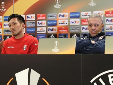 Trainer Marius Şumudică lässt sich nicht in die Karten blicken
