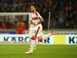 Daniel Ginczek möchte mit dem VfB Stuttgart in die 1. Bundesliga