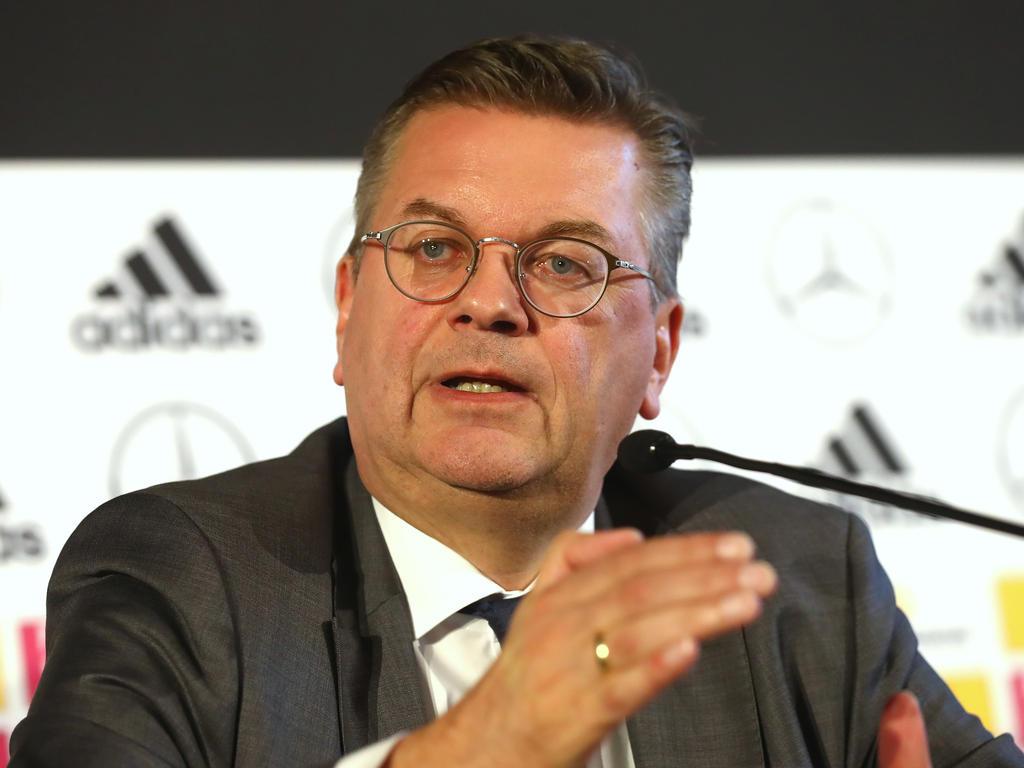 Klares Statement von DFB-Boss Reinhard Grindel