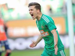 Thomas Murg hat seinen Vertrag beim SK Rapid bis 2021 verlängert