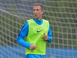 Marc Janko im Training