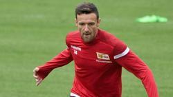Hat seine Trainingsplatz-Premiere beim 1. FC Union Berlin absolviert: Christian Gentner in Aktion
