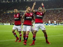 El Flamengo tiene pie y medio en la siguiente fase.