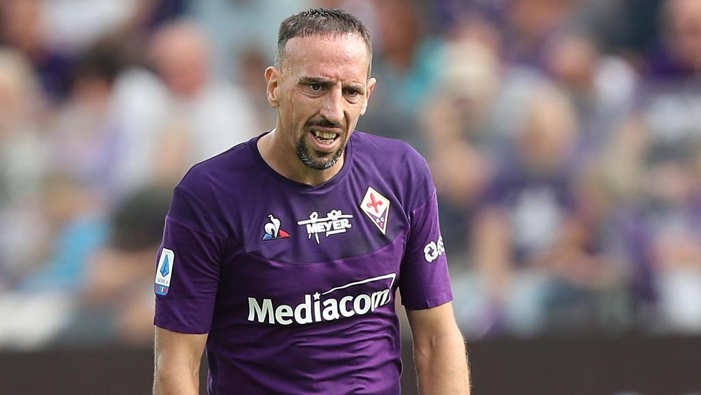 Franck Ribéry kickt seit dem Sommer für AC Florenz