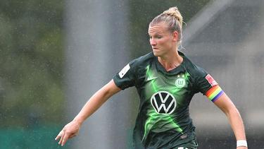 Alexandra Popp glänzte gegen Jena als Doppeltorschützin