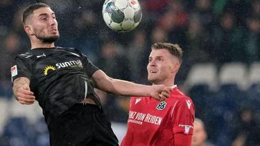 Hannover 96 kann auch gegen Sandhausen nicht zu Hause gewinnen