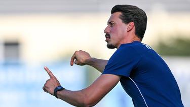 Will als Trainer das Maximum erreichen: Sandro Wagner