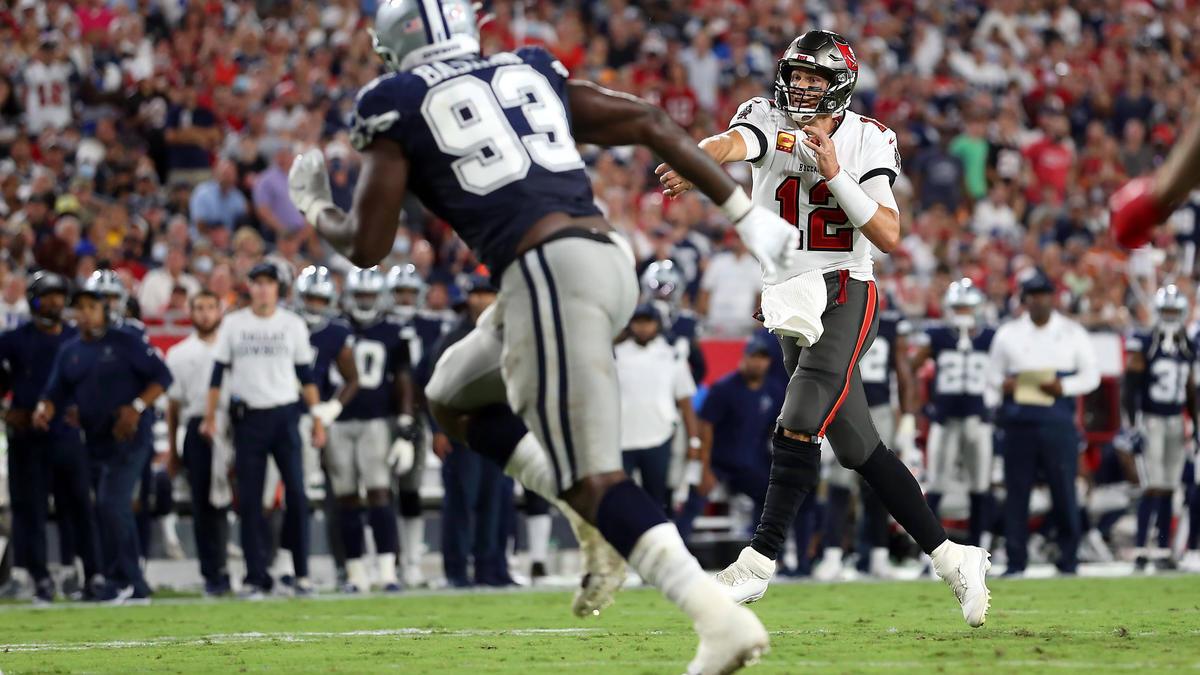 Brady und die Bucs setzten sich gegen Dallas durch