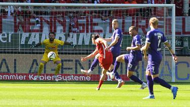 Der 1. FC Kaiserlautern jubelte gegen Osnabrück