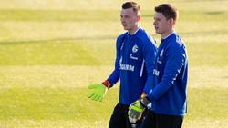 Markus Schubert (l.) könnte Alexander Nübel (r.) beim FC Schalke 04 dauerhaft verdrängen