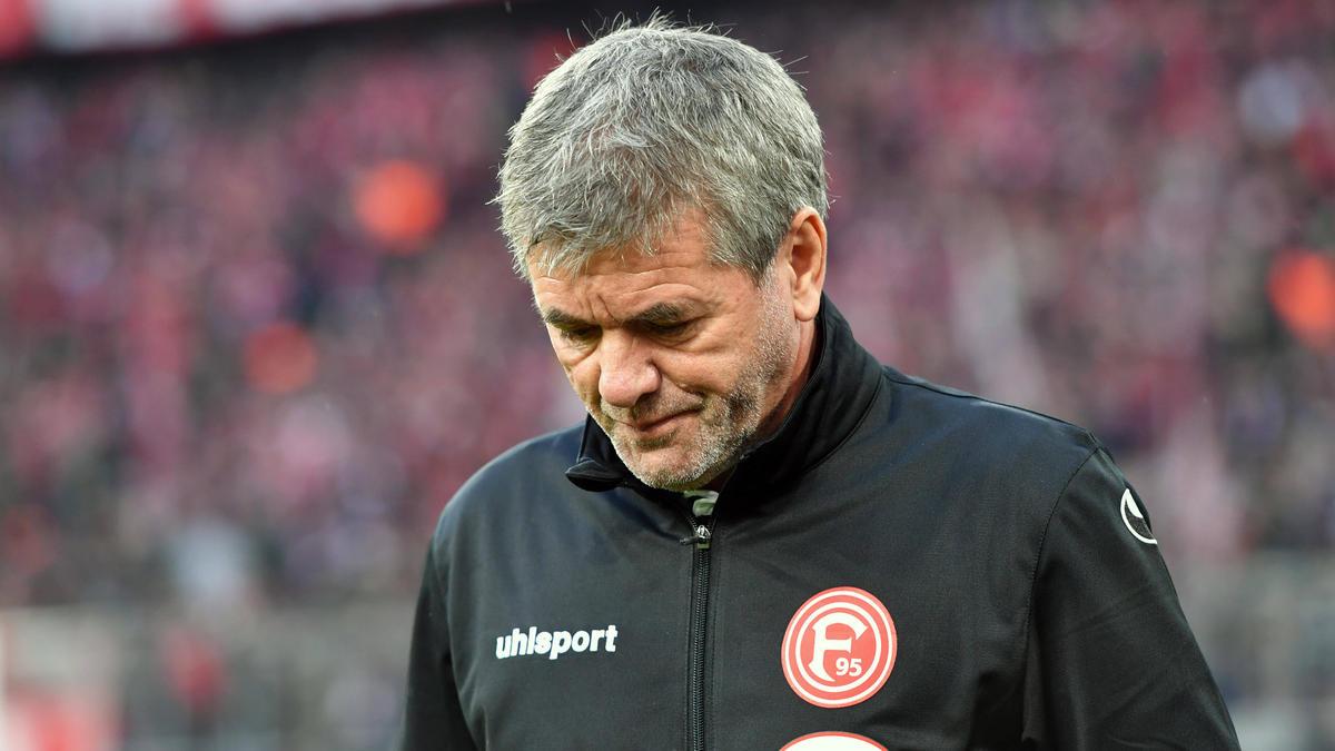 Wird bei Fortuna Düsseldorf keine Rolle mehr spielen: Friedhelm Funkel, ehemals Cheftrainer