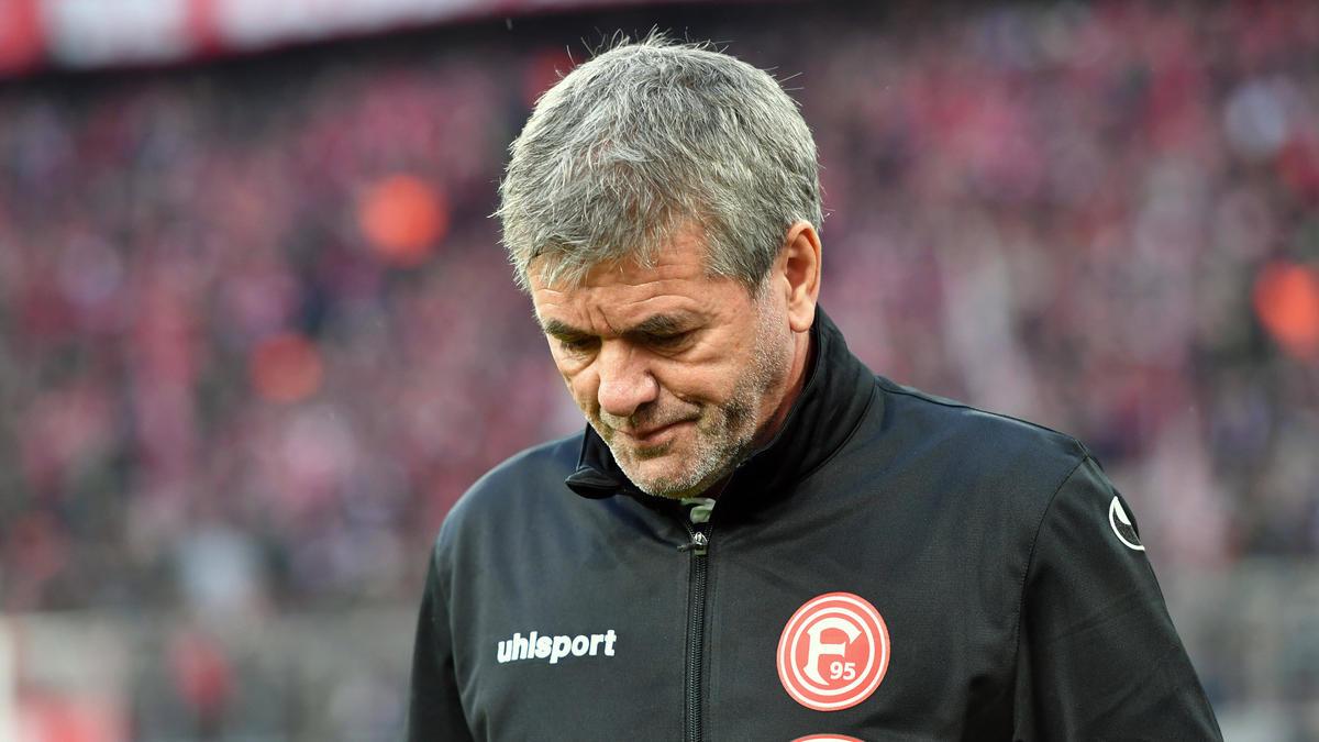Glaubt, dass der Abstieg vermeidbar gewesen wäre: Friedhelm Funkel, Ex-Trainer von Fortuna Düsseldorf