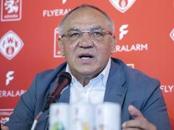 Zurück im Fußball, als Chef von Flyeralarm Global Soccer: Felix Magath