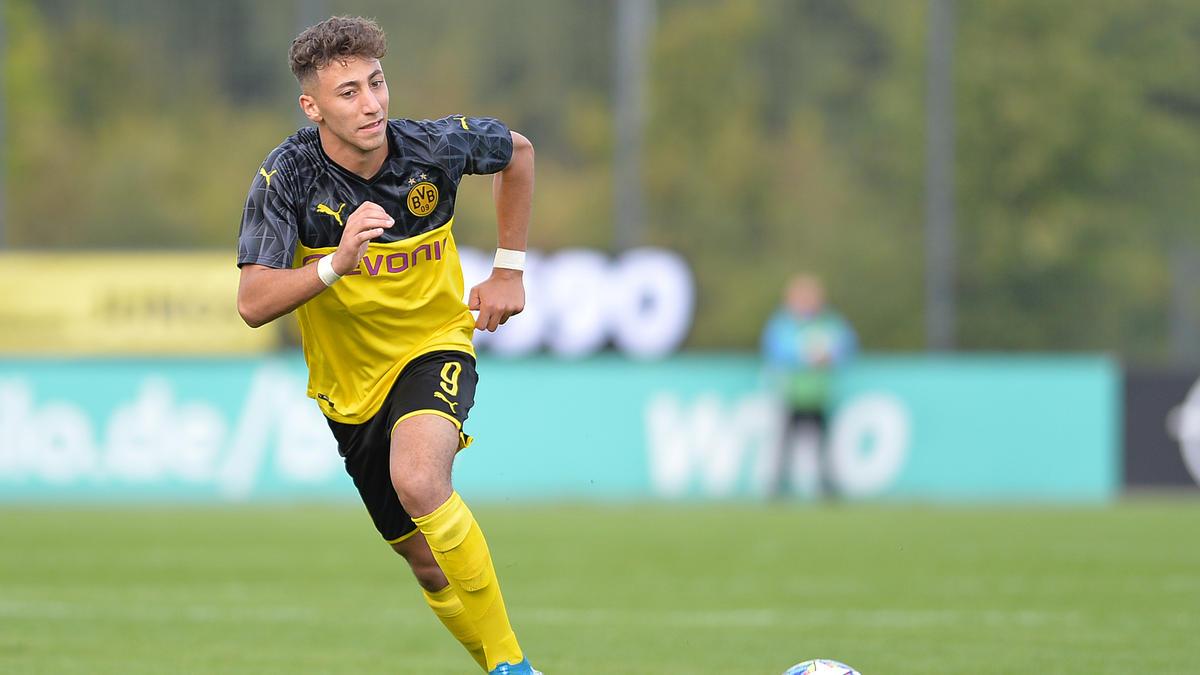 Alaa Bakir ist Kapitän der U19 des BVB