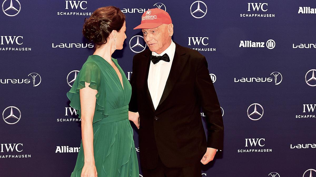 Birgit und Niki Lauda führten bis zu seinem Tod eine glückliche Ehe samt Kindern