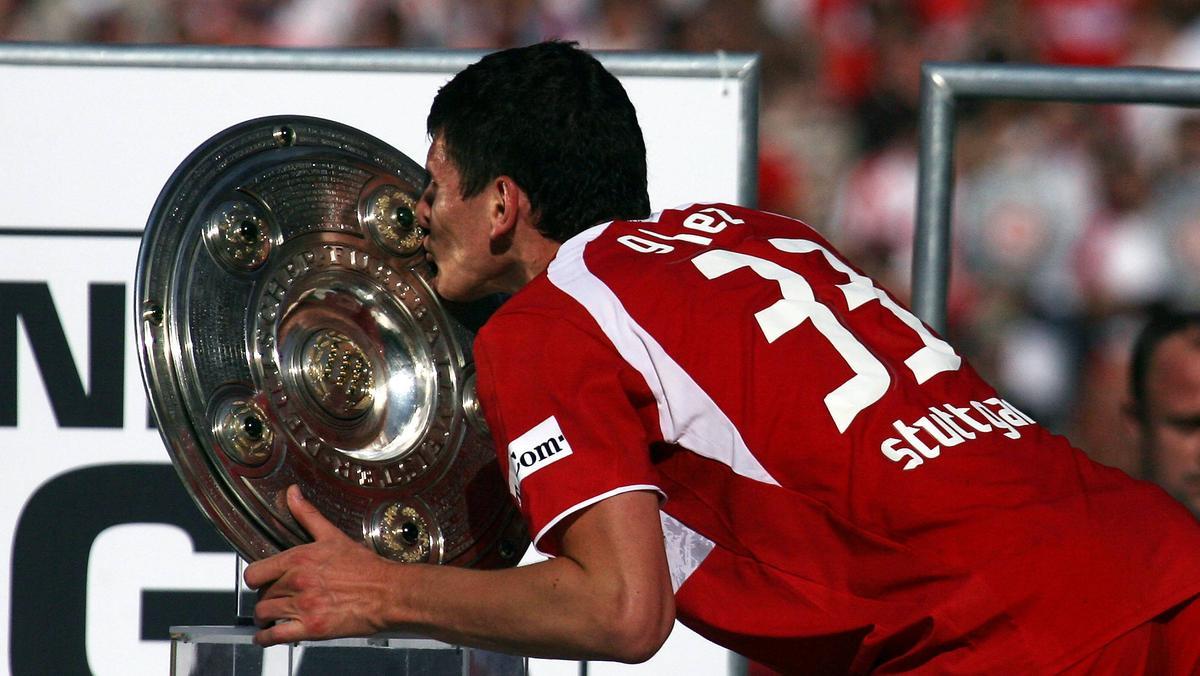 Mario Gomez schoss den VfB Stuttgart 2007 zur Meisterschaft