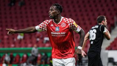 Matchwinner für Mainz 05: Jean-Philippe Mateta