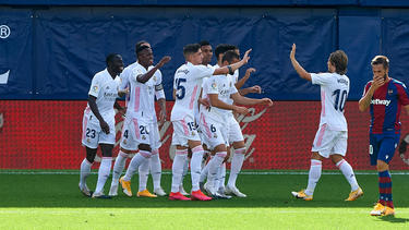 Real Madrid gewann bei UD Levante
