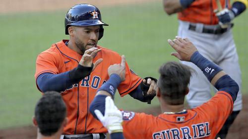 Die Houston Astros glichen in der Best-of-seven-Serie aus