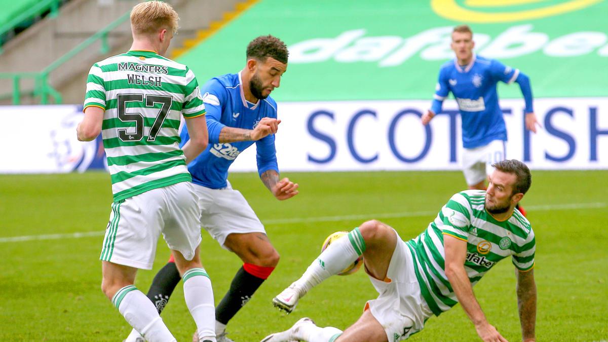 Connor Goldson traf gegen Celtic doppelt