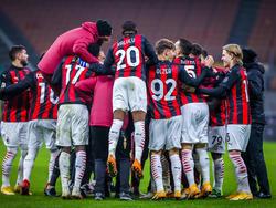 Milan jubelt über den späten Aufstieg ins Cup-Viertelfinale