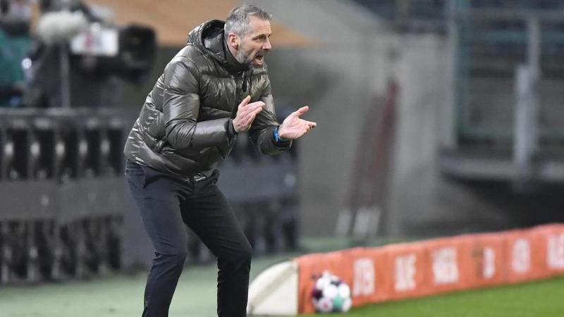 Trainer Marco Rose wurde zuletzt mit dem BVB in Verbindung gebracht