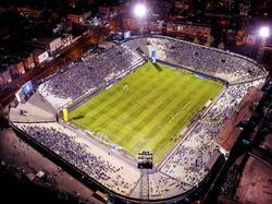 Vista aérea del estadio Alejandro Villanueva de Lima.
