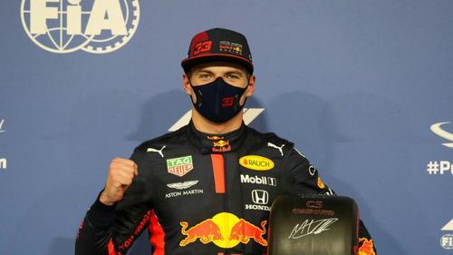Max Verstappen fokussiert sich auf die anstehende Saison