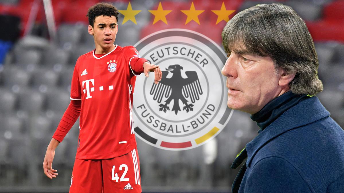 Jamal Musiala vom FC Bayern läuft künftig für den DFB auf