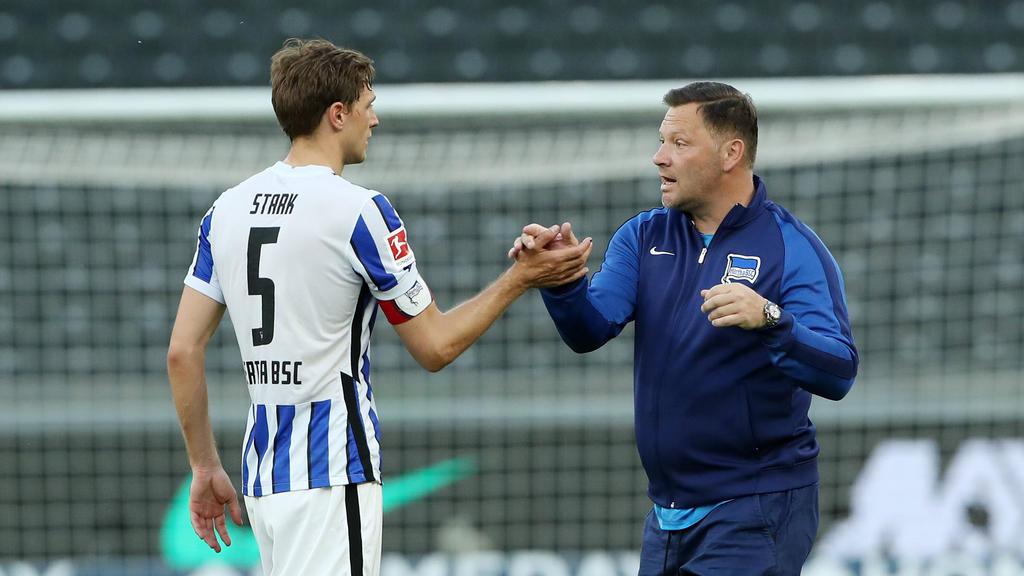 Niklas Stark fordert vollen Einsatz von seine Kollegen bei Hertha BSC