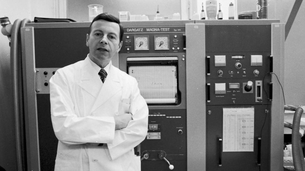 Wildor Hollmann war unter anderem Kardiologe