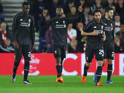 Daniel Sturridge celebrando uno de sus dos goles ante el Southampton. (Foto: Getty)
