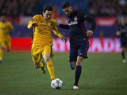 Im Duell mit Messi