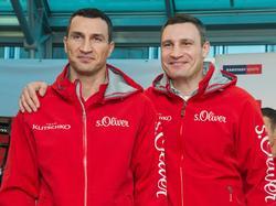 Wladimir und Witali Klitschko